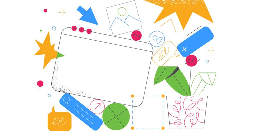 illustration of slack channels for marketers