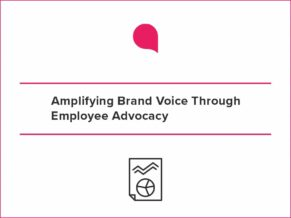 Infographic Amplifying Brand Voice
