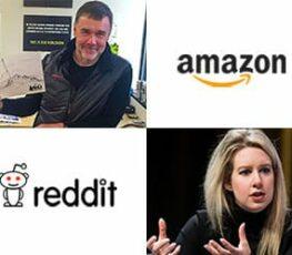 Amazon and Reddit employees.
