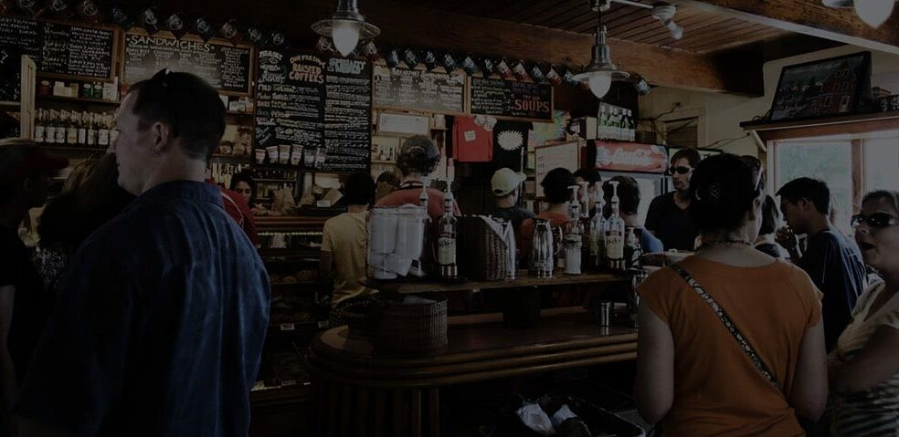 An image of a coffee shop.
