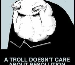 An image of a troll meme.
