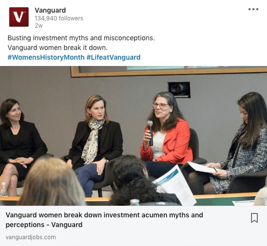 Life at Vanguard
