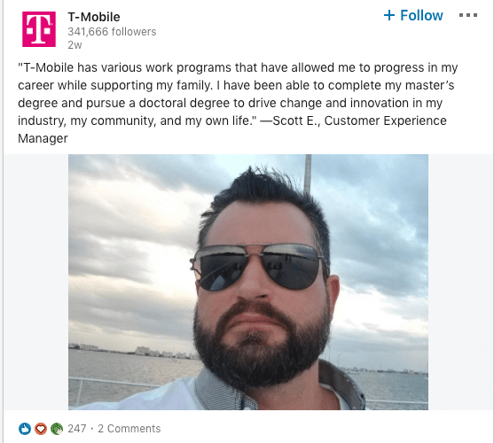 T-Mobile employee story
