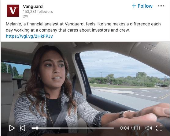 Vanguard employee stories