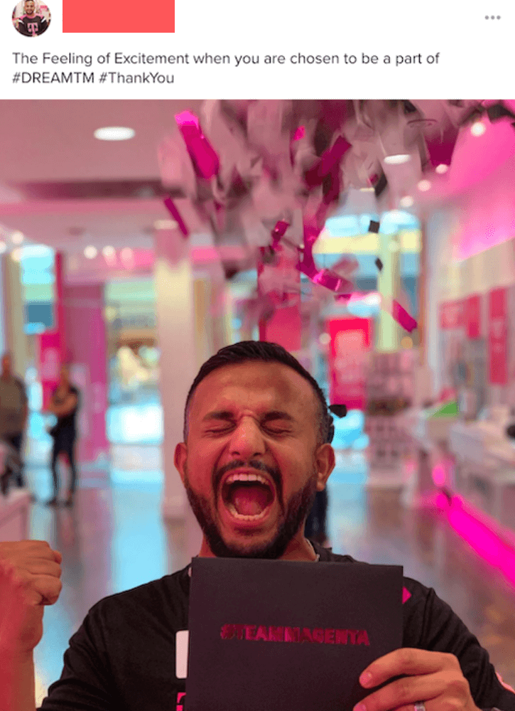 T-Mobile Employee-Generated Content
