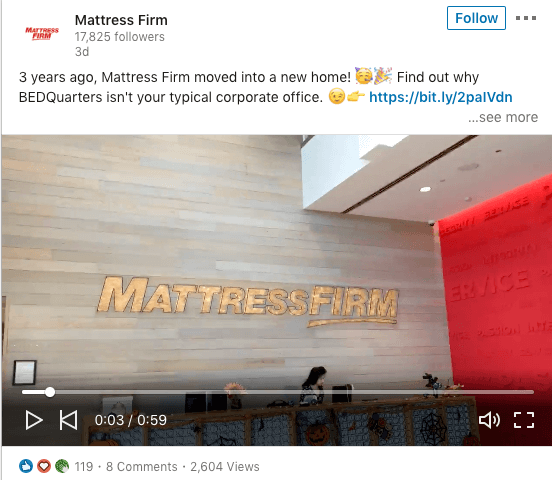 Mattress Firm Employer Brand