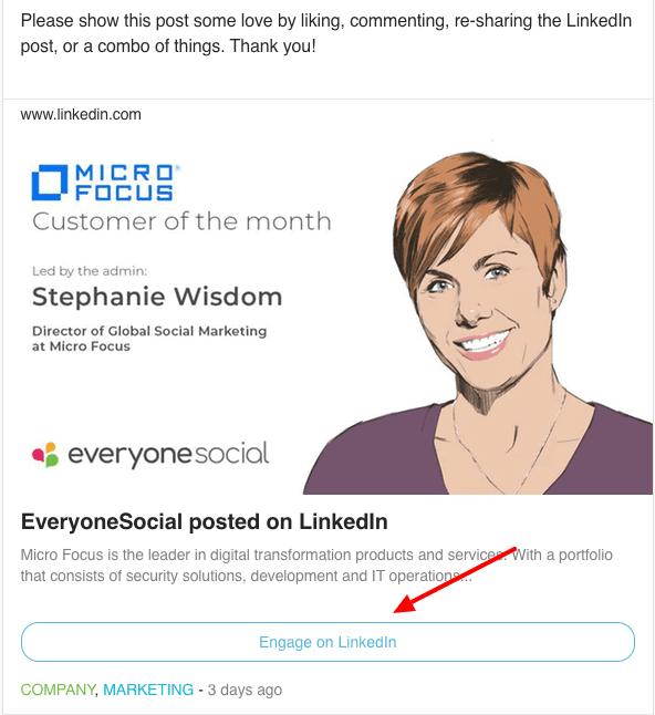 Engage Social Post