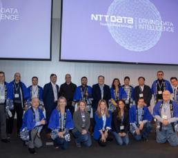 NTT Data Employees.