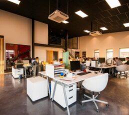 Egencia office example.