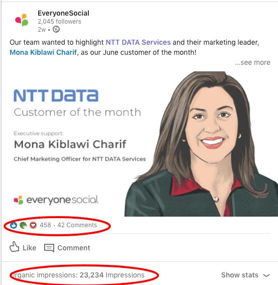 LinkedIn Post Results