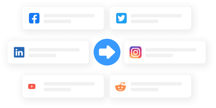 Social network integrations.