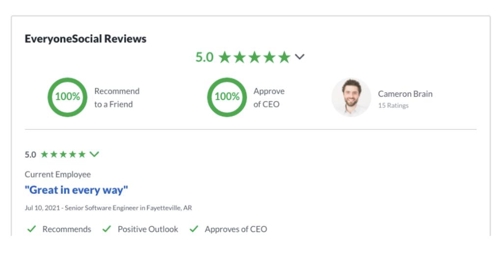 everyonesocial glassdoor reviews